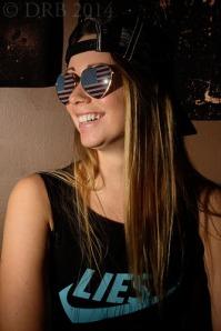 girl in skateboard tank top