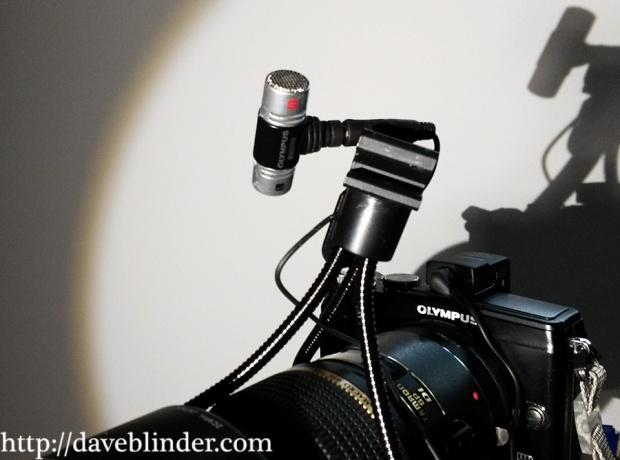 camera, mic, lens