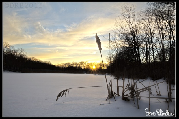 New Jersey Photograph of a Winter Sunset