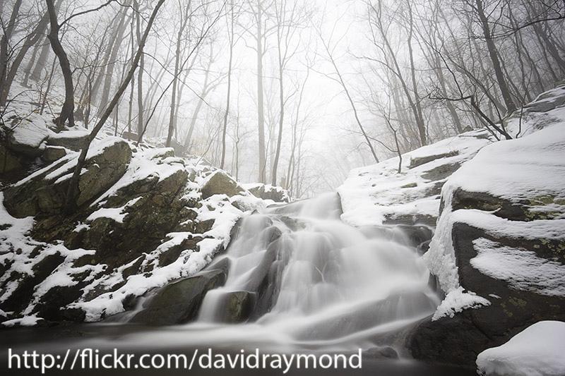 Electric Brook Falls in Winter