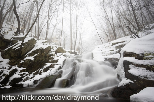 Electric Brook Falls in Winter