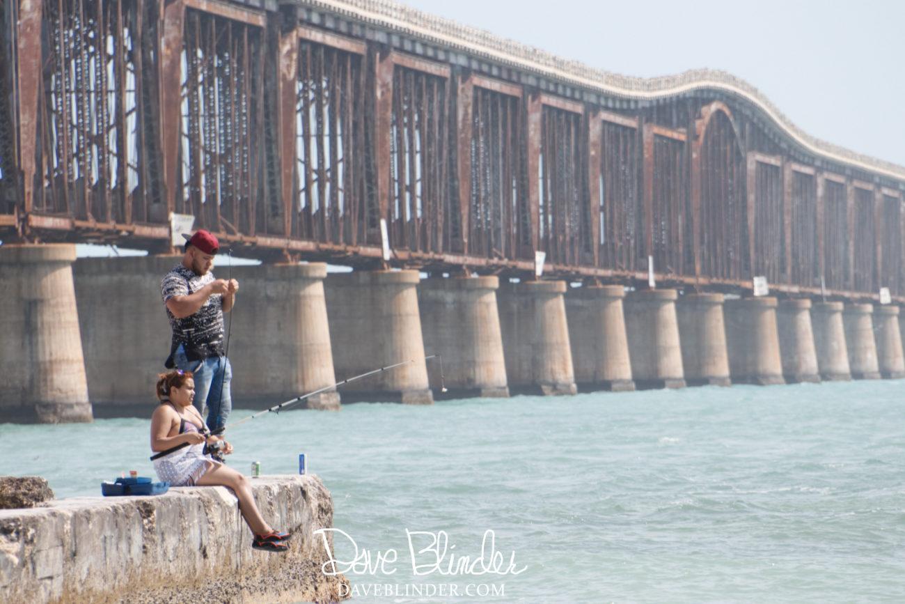Picture of Old Bahia Honda Bridge. Summerland Key