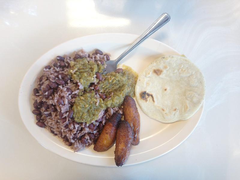 Breakfast from Tutilandia Fritanga in Homestead Florida