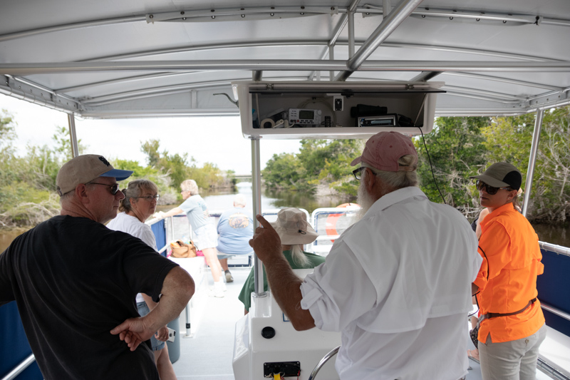 Everglades National Park Back Water Boat Tour guide