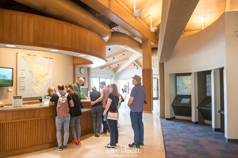 Everglades National Park Visitor Center inside