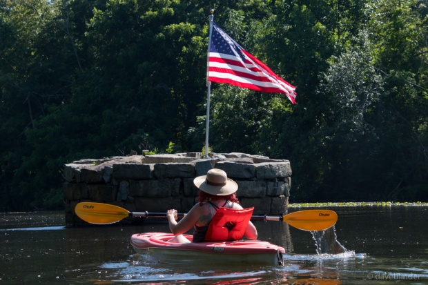 Fourth of July paddle on the Rockaway River | daveblinder